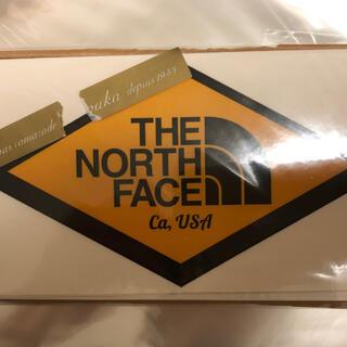 ザノースフェイス(THE NORTH FACE)の新品未使用 ノースフェイス ステッカー(シール)