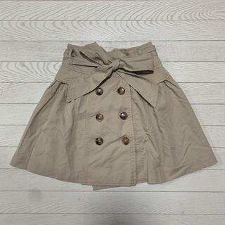 バイバイ(ByeBye)のトレンチスカート(ミニスカート)