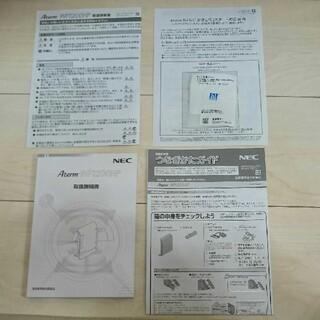 エヌイーシー(NEC)のルーター NEC PA-WF1200HP(PC周辺機器)