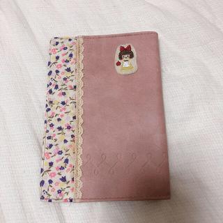 プチフルール(Petite fleur)のブックカバー 赤ずきん ピンク(ブックカバー)