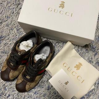 グッチ(Gucci)のGUCCI スニーカー 31サイズ(19~19.5)(スニーカー)