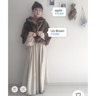 ロキエ(Lochie)のfur coat(毛皮/ファーコート)