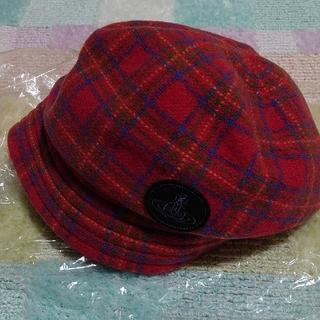ヴィヴィアンウエストウッド(Vivienne Westwood)のヴィヴィアン 帽子(キャスケット)