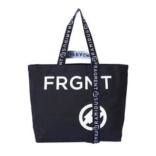 フラグメント(FRAGMENT)のRAMIDUS fragment design トートバッグ L 黒 (トートバッグ)