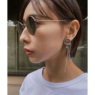 Ameri VINTAGE - Bijou R.I Circle Earring