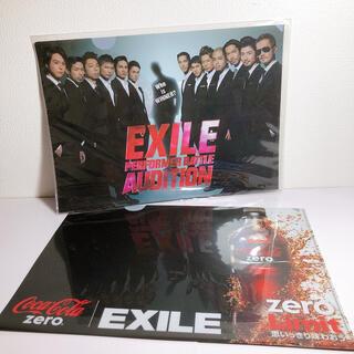 エグザイル(EXILE)のEXILE❤️クリアファイル(アイドルグッズ)