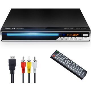Gueray DVDプレーヤー DVD/CD再生専用モデル HDMI/AV出力搭(DVDプレーヤー)