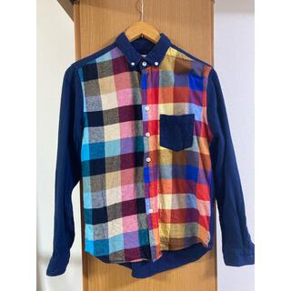 グラニフ(Design Tshirts Store graniph)のDesign Tshirts Store graniph チェックネルシャツ(シャツ)