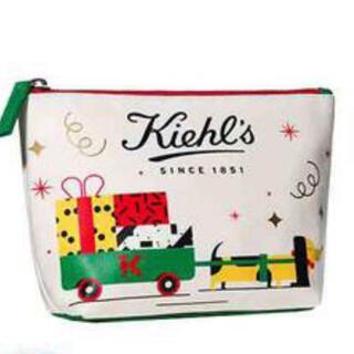 キールズ(Kiehl's)のキールズ クリスマスポーチ 新品未使用 未開封(ポーチ)