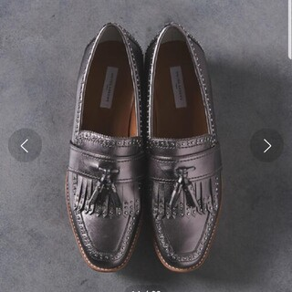 イエナ(IENA)のUNITED ARROWS プラットフォーム ローファー おじ靴 23.5㎝(ローファー/革靴)