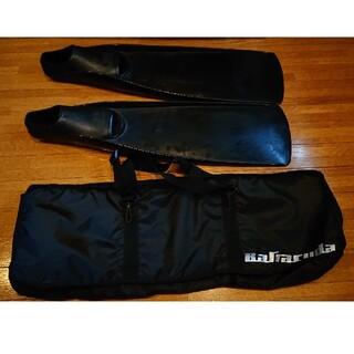 ガル(GULL)のGULL バラクーダフィン 専用バッグ付き サイズM(マリン/スイミング)