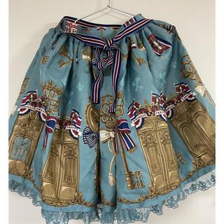 アンジェリックプリティー(Angelic Pretty)のangelic  pretty 幸運の鍵 スカート ミント(ひざ丈スカート)