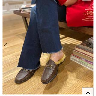 ドゥーズィエムクラス(DEUXIEME CLASSE)の【CAMINANDO/カミナンド】 Bit Loafer  サイズ37(ローファー/革靴)