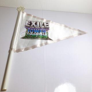 エグザイル(EXILE)のEXILE🤍フラッグ(アイドルグッズ)