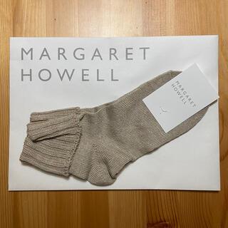 マーガレットハウエル(MARGARET HOWELL)のMARGARET HOWELL マーガレットハウエル 靴下 ソックス【値下げ】(ソックス)
