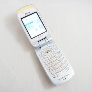 ソニー(SONY)のSONY  ガラケー本体 au W41S(携帯電話本体)