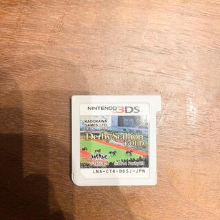 任天堂3DSダービースタリオンゴールド(携帯用ゲームソフト)