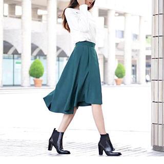 ビッキー(VICKY)のyouki様専用ビッキーVICKY ターコイズブルー色のフレアスカート(ロングスカート)