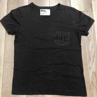 マーガレットハウエル(MARGARET HOWELL)の美品 マーガレットハウエル MHL.レディースTシャツ(Tシャツ(半袖/袖なし))