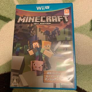 マイクロソフト(Microsoft)のMinecraft: Wii U Edition Wii U(家庭用ゲームソフト)