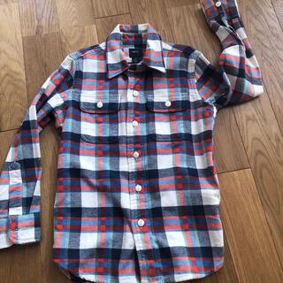 ギャップ(GAP)のGAPチェックシャツ120(ブラウス)