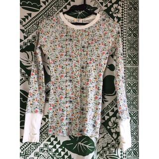 ロキシー(Roxy)のROXY ロキシー 可愛い花柄 長袖Tシャツ スノーボード ビラビン ボルコム(Tシャツ(長袖/七分))