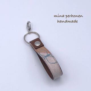 ミナペルホネン(mina perhonen)のミナペルホネン*choucho キーリング ハンドメイド⑪(キーホルダー/ストラップ)