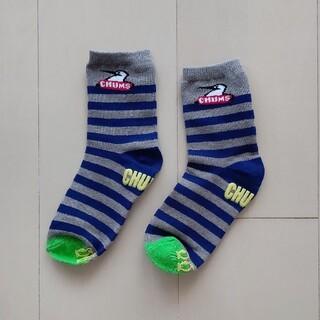 チャムス(CHUMS)のCHUMS(チャムス) ブービーバードモチーフのソックスキッズ用靴下(靴下/タイツ)