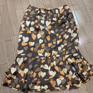 ハナエモリ(HANAE MORI)のPRIMATTIVO HANAEMORI フレアスカート 38(ひざ丈スカート)