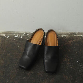 TODAYFUL - トゥデイフル TODAYFUL Squre Gather Shoes
