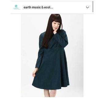 アースミュージックアンドエコロジー(earth music & ecology)の新品同様♡アースミュージックアンドエコロジー ワンピース(ひざ丈ワンピース)