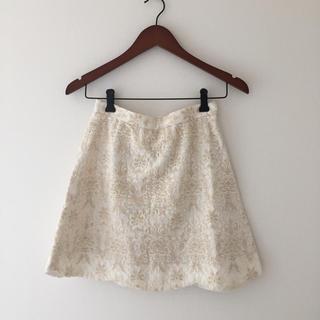 イエナ(IENA)のイエナ♡白レーススカート(ミニスカート)