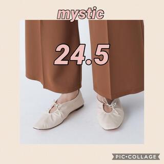 ミスティック(mystic)の【mystic】ギャザーバレエシューズ(バレエシューズ)
