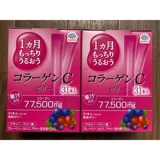 アースセイヤク(アース製薬)のコラーゲンCゼリー(10g*31本入*2コセット)(コラーゲン)
