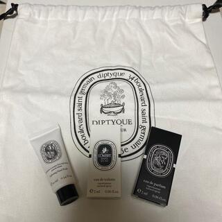 ディプティック(diptyque)のdiptyque 巾着 試供品 セット(ポーチ)
