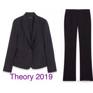 セオリー(theory)の2019 セオリー パンツスーツ セットアップ ネイビー 【定価79,920円】(スーツ)