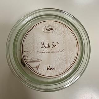 サボン(SABON)のSABON Bath Salt Rose(入浴剤/バスソルト)