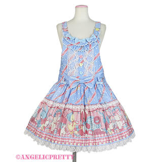 Angelic Pretty - 【最終値下げ】MELODY TOYSサロペット