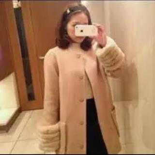 スナイデル(snidel)のsnidel スナイデル まいまい着用 ファーコート(毛皮/ファーコート)