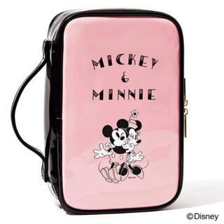 ディズニー(Disney)のディズニー ミッキー&ミニー ドレッサーポーチ(メイクボックス)