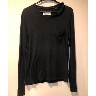 マルタンマルジェラ(Maison Martin Margiela)のマルタンマルジェラ10 首ダル加工カットソー(Tシャツ/カットソー(七分/長袖))