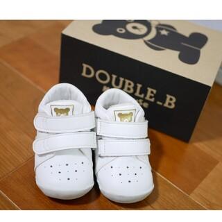 DOUBLE.B - DOUBLE B  ファーストシューズ 12cm