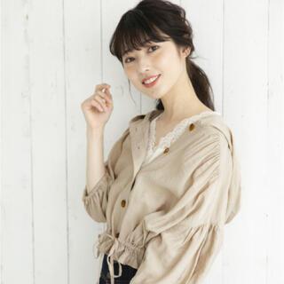 ヘザー(heather)のHeather 裾絞りシャツ(Tシャツ(長袖/七分))