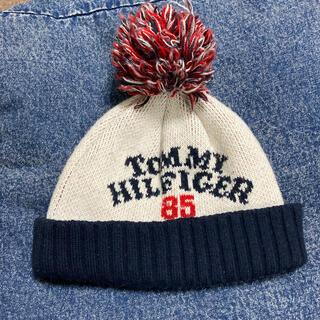 トミーヒルフィガー(TOMMY HILFIGER)のTOMMY キッズ ニット帽(帽子)