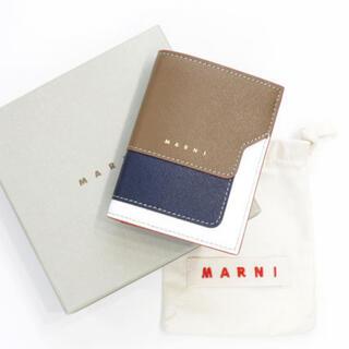 マルニ(Marni)の【MARNI】美品 サフィアーノ 二つ折り財布(財布)