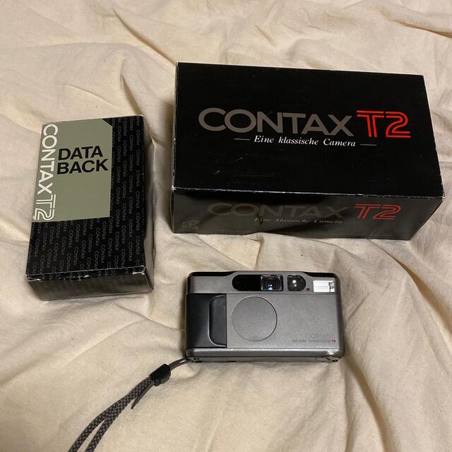 京セラ(キョウセラ)のcontax T2 スマホ/家電/カメラのカメラ(フィルムカメラ)の商品写真
