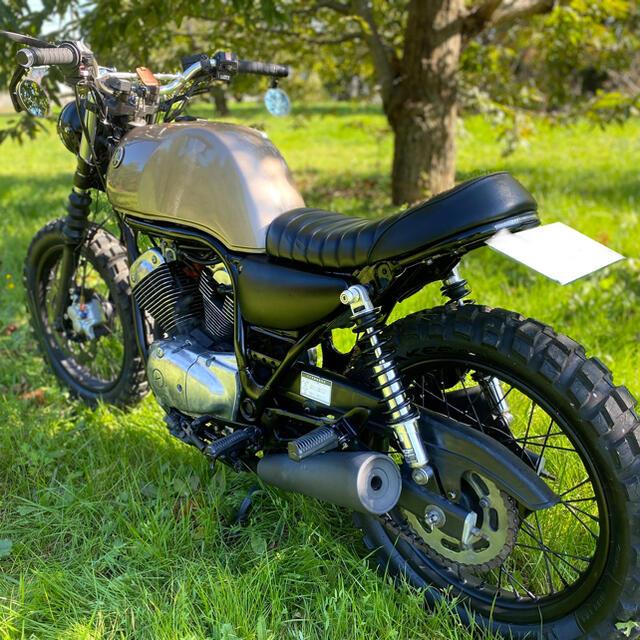 ヤマハ(ヤマハ)のヤマハSRV250 カスタム ブラットスタイル カフェレーサー 自動車/バイクのバイク(車体)の商品写真