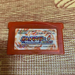 ゲームボーイアドバンス(ゲームボーイアドバンス)のちー様専用 ポケットモンスター ファイヤーレッド GBA(携帯用ゲームソフト)