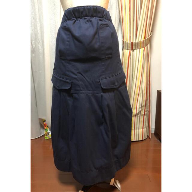 sacai luck(サカイラック)のsacai luck ロングスカート サイズ1 レディースのスカート(ロングスカート)の商品写真