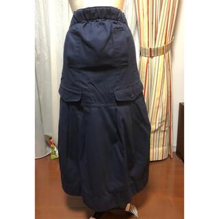 サカイラック(sacai luck)のsacai luck ロングスカート サイズ1(ロングスカート)